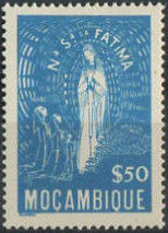 Mozambique 1948 Lady of Fatima
