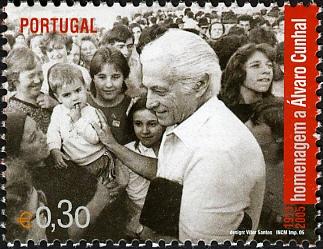 Portugal 2005 Tribute to Álvaro Cunhal