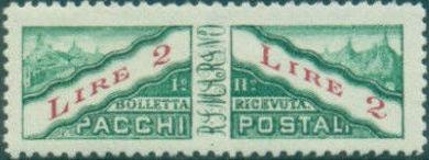 San Marino 1928 Parcel Post Stamps i.jpg