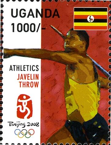 Uganda 2008 29th Olympic Games 2008 - Beijing