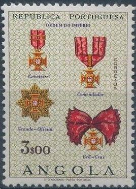 Angola 1967 Portuguese Civil and Military Orders f.jpg