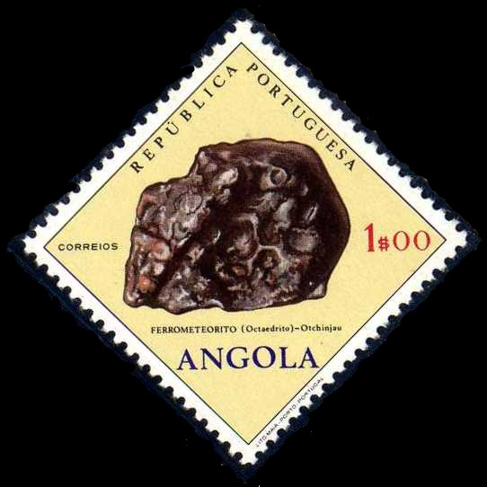 Angola 1970 Fossils and Minerals from Angola b.jpg