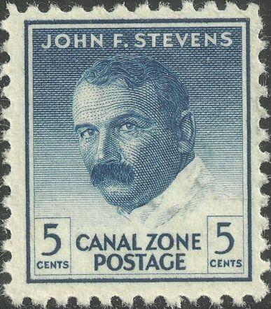 Canal Zone 1946 John F. Stevens