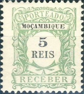 Mozambique 1904 Postage Due Stamps
