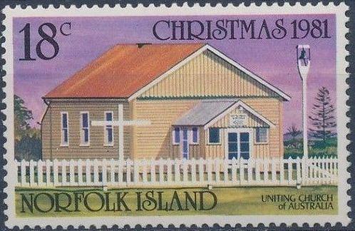 Norfolk Island 1981 Christmas (Churches)