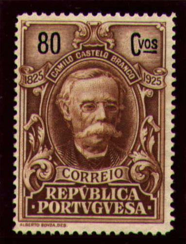 Portugal 1925 Birth Centenary of Camilo Castelo Branco s.jpg