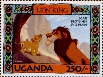 Uganda 1994 The Lion King s.jpg