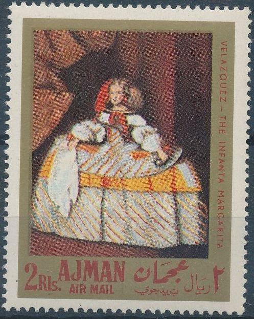 Ajman 1968 Paintings by Diego Rodriguez de Silva y Velazquez d.jpg