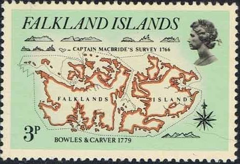 Falkland Islands 1981 18th Century Maps and Charts of the Falkland Islands