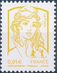 France 2013 Type Marianne Ciappa and Kawena