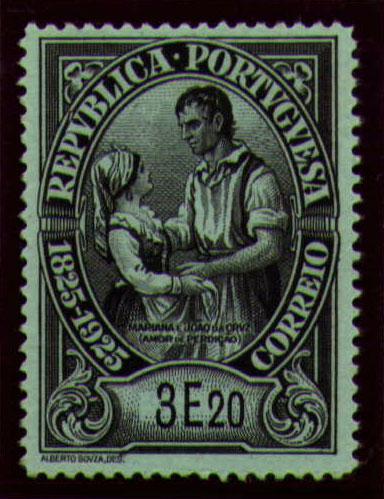 Portugal 1925 Birth Centenary of Camilo Castelo Branco ab.jpg