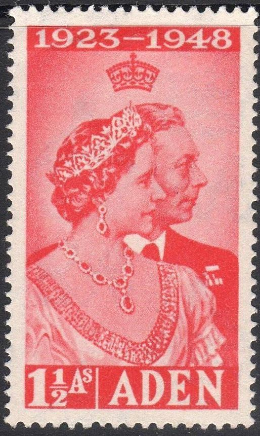 Aden 1949 Silver Wedding of King George VI & Queen Elizabeth a.jpg