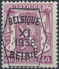 Belgium 1938 Coat of Arms - Precancel (11th Group) e.jpg