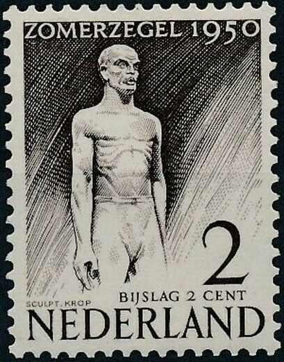 Netherlands 1950 Surtax for Social and Cultural Works a.jpg