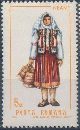 Romania 1968 Folk Costumes