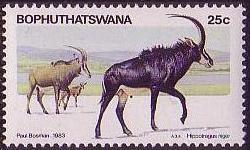 Bophuthatswana 1983 Pilanesberg Nature Reserve c.jpg