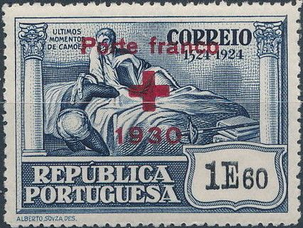 Portugal 1930 Red Cross - 400th Birth Anniversary of Camões d.jpg