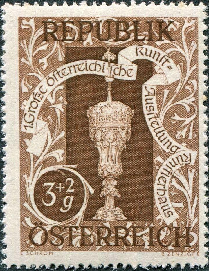 Austria 1947 Art Exhibition