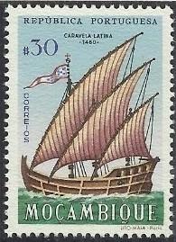 Mozambique 1963 Development of Sailing Ships c.jpg