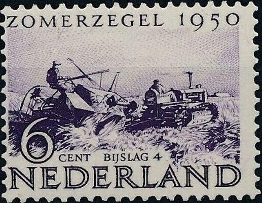 Netherlands 1950 Surtax for Social and Cultural Works d.jpg
