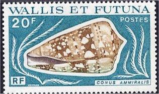 Wallis and Futuna 1976 Sea Shells