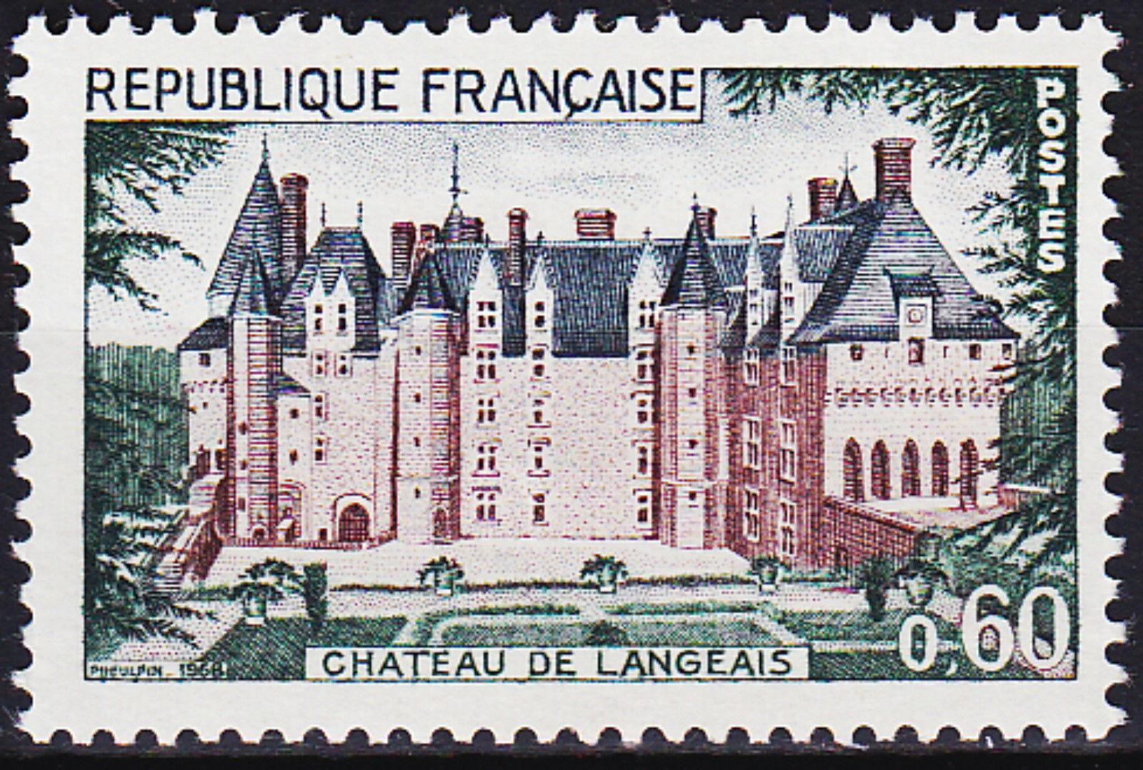 France 1968 Chateau de Langeais