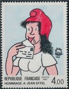 France 1983 75th Anniversary of the Birth of Jean Effel