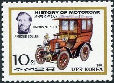 Korea (North) 1986 History of the Motor Car a.jpg
