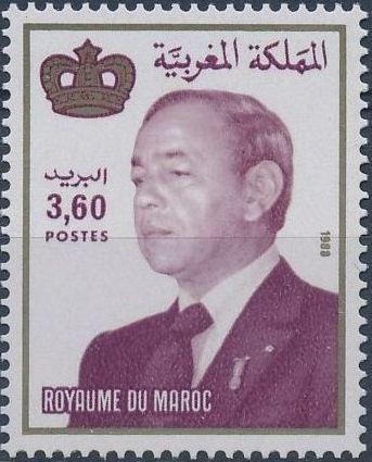 Morocco 1988 King Hassan II b.jpg