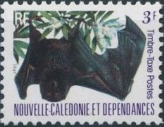 New Caledonia 1983 Bat Issue (Official Stamps) c.jpg
