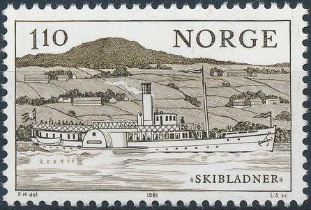 Norway 1981 Lake Transportation