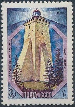 Soviet Union (USSR) 1983 Baltic Sea lighthouses