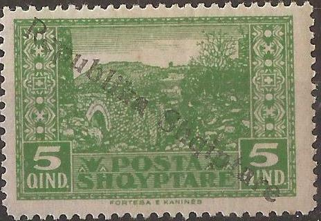 Albania 1925 Views of Cities Overprinted c.jpg