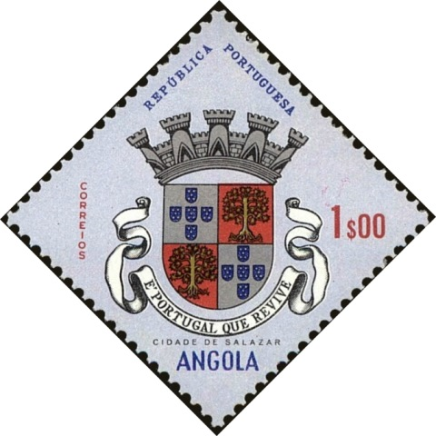 Angola 1963 Coat of Arms - (1st Serie) e.jpg
