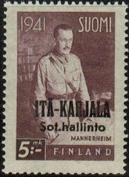Eastern Karelia 1942 Marshal Mannerheim Overprinted f.jpg