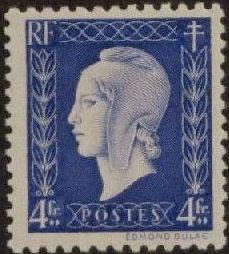 France 1945 Marianne de Dulac (2nd Issue) m.jpg
