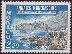 Monaco 1986 10th Anniversary of the Publication of Annales Monegasques