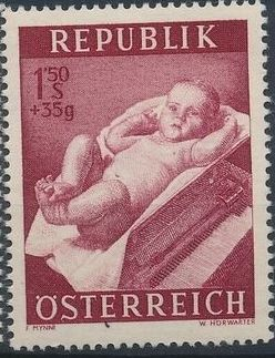 Austria 1954 Surtax for Social Welfare e.jpg