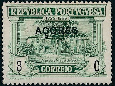 Azores 1925 Birth Centenary of Camilo Castelo Branco b.jpg