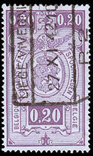 Belgium 1941 Railway Stamps (Numeral in Rectangle IV) b.jpg