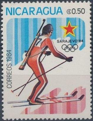 Nicaragua 1984 Winter Olympics - Sarajevo' 84