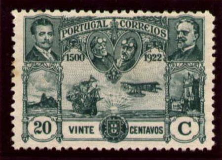 Portugal 1923 First flight Lisbon Brazil h.jpg