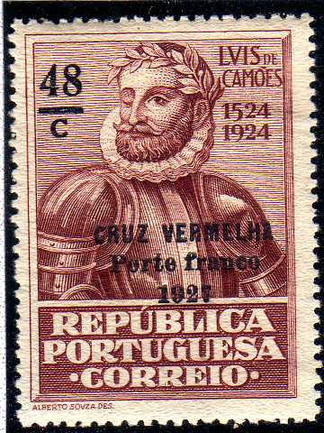 Portugal 1927 Red Cross - 400th Birth Anniversary of Camões b.jpg