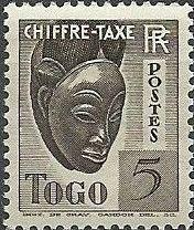 Togo 1941 Postage Due
