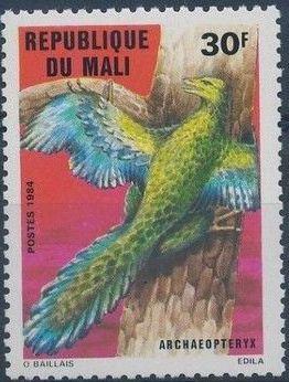 Mali 1984 Prehistoric Animals c.jpg