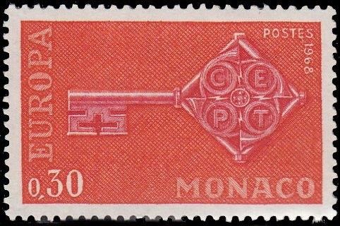 Monaco 1968 Europa