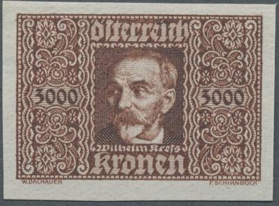 Austria 1923 Air Post Stamps (Common Kestrel and Wilhelm Kress) 2nd Group c.jpg