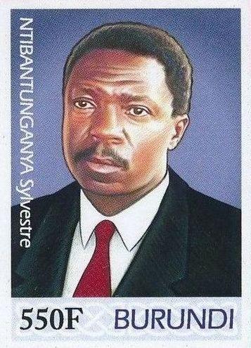 Burundi 2012 Presidents of Burundi - Sylvestre Ntibantunganya f.jpg