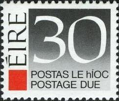 Ireland 1988 Postage Due Stamps i.jpg