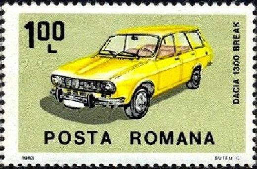 Romania 1983 Romanian Cars b.jpg